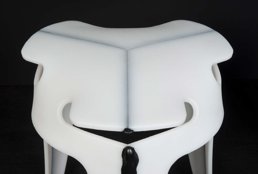 Admirable Weld Stool Studio Joris De Groot Theyellowbook Wood Chair Design Ideas Theyellowbookinfo